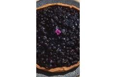 Une tarte aux Myrtilles locales pour les gourmands !